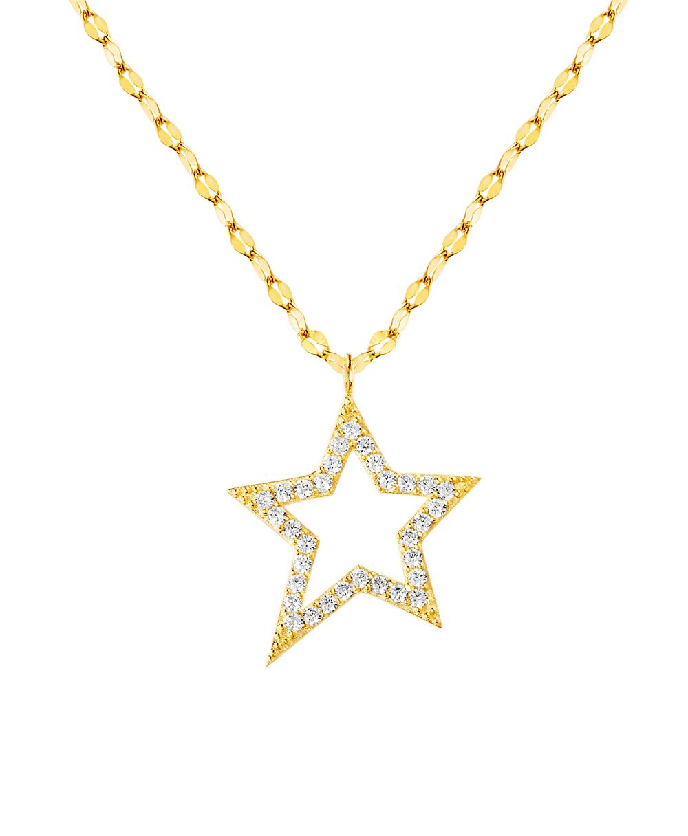 Conjunto estrella, amarillo, con piedras