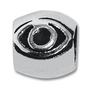 abalorio macizo ojo