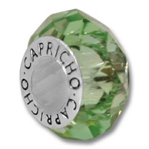 cristal de montaña color verde claro