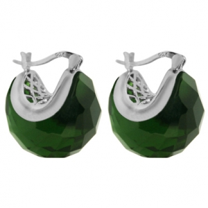 Par aros miss capricho color verde
