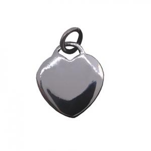 Colgante corazon mediano bombe. 1, 5 cm aprox