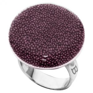 anillo bubble plano uva