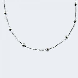 Collar mini-bolitas y pelotitas ( x 50 cm )