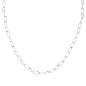 Cadena eslabones ovalados f. larga, hilo 120, x 60 cm