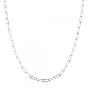 Cadena eslabon forcet alargado, ffl, hilo 120, x 60 cm