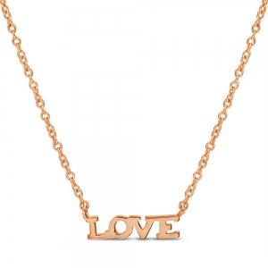 Conjunto love , sin piedra, rosado