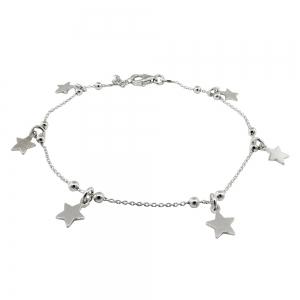 Pulsera seis estrellas y bolitas