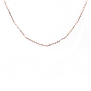 Cadena mini rolo, premium, rosada, x 40 cm