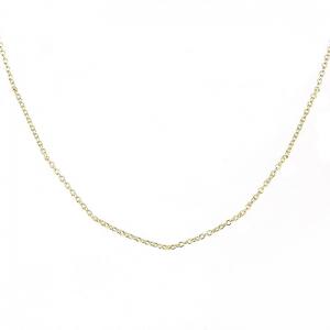 Cadena mini rolo, premium, amarilla, x 80 cm