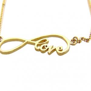 Conjunto infinite love sin piedra, amarillo