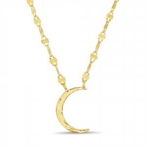 Conjunto amarillo luna sin piedra