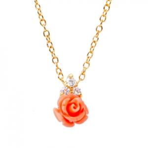 Conjunto Rosa tres piedras amarillo