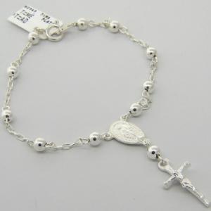pulsera rosario 4 mm