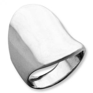 anillo platabella rodinado hundidote