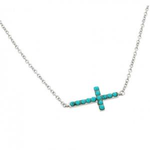 conjunto cruz turquesas