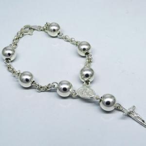 pulsera rosario 9 mm